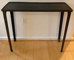 Pottery Barn Metal Console Table