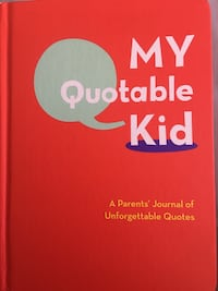My Quotable Kid Book for memories  Westlake Village, 91362