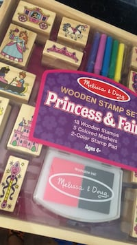 Board Game   Stamp Set Princess & Fairy Los Angeles, 90019
