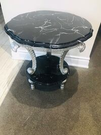 Side table marbled Chrome  Brampton, L6S 2S4