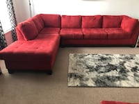 Section Sofa with Chaise and Ottoman Parkville, 21234