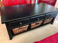 Coffee table with tons of storage