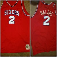 red and white Nike basketball jersey Baltimore, 21216