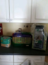 Hamster cage with bedding $25 or best offer Quinte West, K8V 3S8