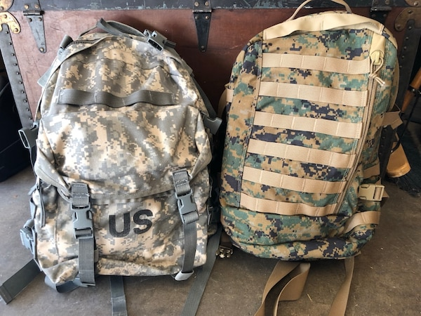 2 Military Assault Pack Rucsack Recon Medical Backpack