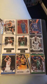 NBA cards 250 cards (Not all imaged)