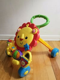 Fisher price baby walker musical lion
