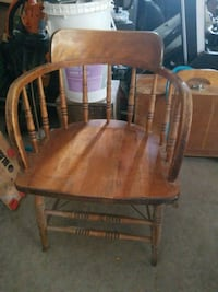 Two old bar chairs $30 each or $50 for the pair Toronto, M6M 2X8