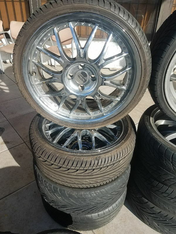18 Inch Rims And Tires >> 18 Inch Chrome Rims And Tires 4 Lugs