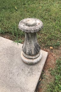 Cement Stand for bird bath