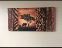 elephant and tree painting