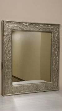 LARGE, SILVER-FRAMED WALL MIRROR Arlington, 22204