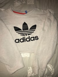 gray and black Adidas crew-neck shirt null, T0M 0B8