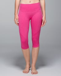 New lululemon In The Flow crop size 6 King, L0G 1N0