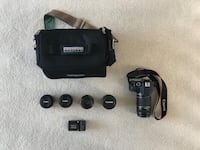 Canon EOS Rebel SL1 WITH lenses and bag Woodhaven, 48183
