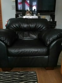 Ashley - Real Leather Big Arm Chair ** $325** Saskatoon, S7J