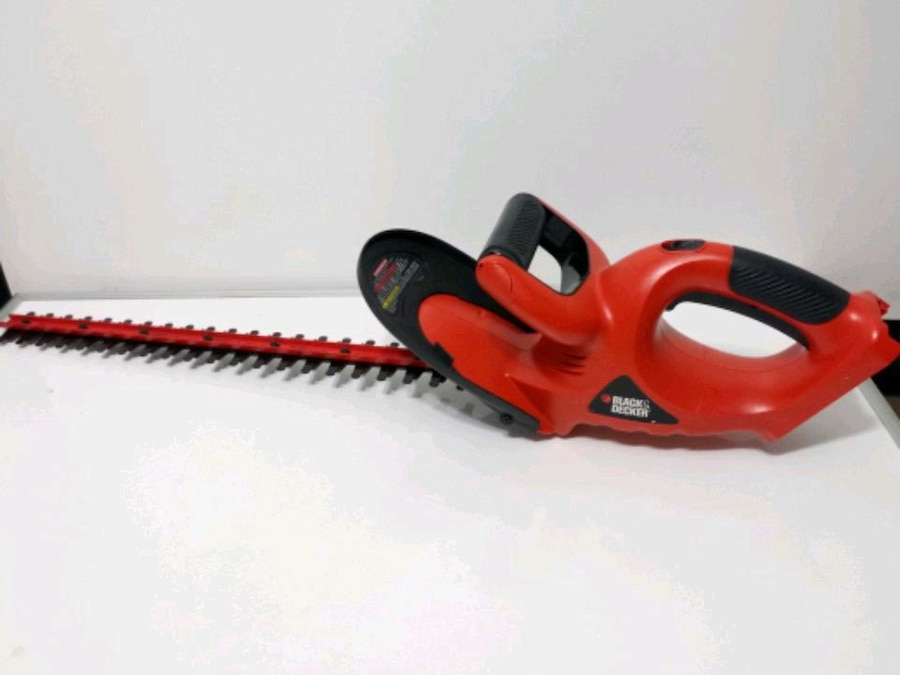 Photo 18V Black And Decker Hedger. Tool Only
