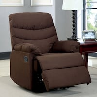 brown fabric sofa chair with ottoman Los Angeles, 90029