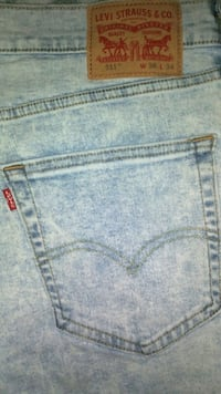 New Levi's 511 Jeans 36x34 Lincoln, 68503