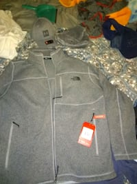 gray zip-up jacket Greenville, 29605