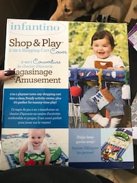 blue Infantino shop & play box