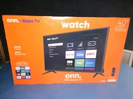 new in box Roku TV 40""