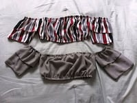 black and pink striped shorts San Antonio, 78222
