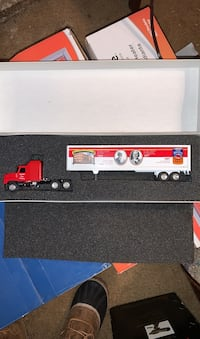 Campbell's soup collectible truck