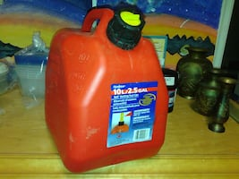 SCEPTER - Self Venting Fuel Can 10L / 2.5 Gal
