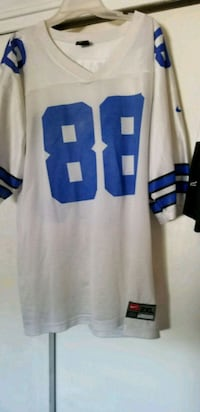 white and blue NFL jersey Providence, 02908