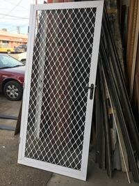 screen door vintage 36""