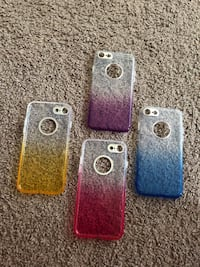 Two red and one blue iphone cases Regina, S4P