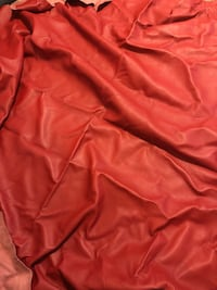 Large piece red REAL leather  Las Vegas, 89123