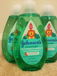 3 new Johnsons baby shampoo conditioner no more tangles bundle  $10 Rockville