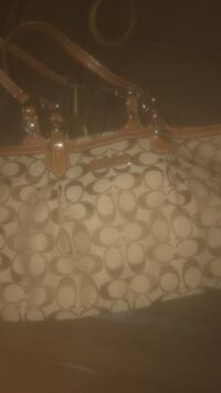 brown and tan coach purse The Colony, 75056