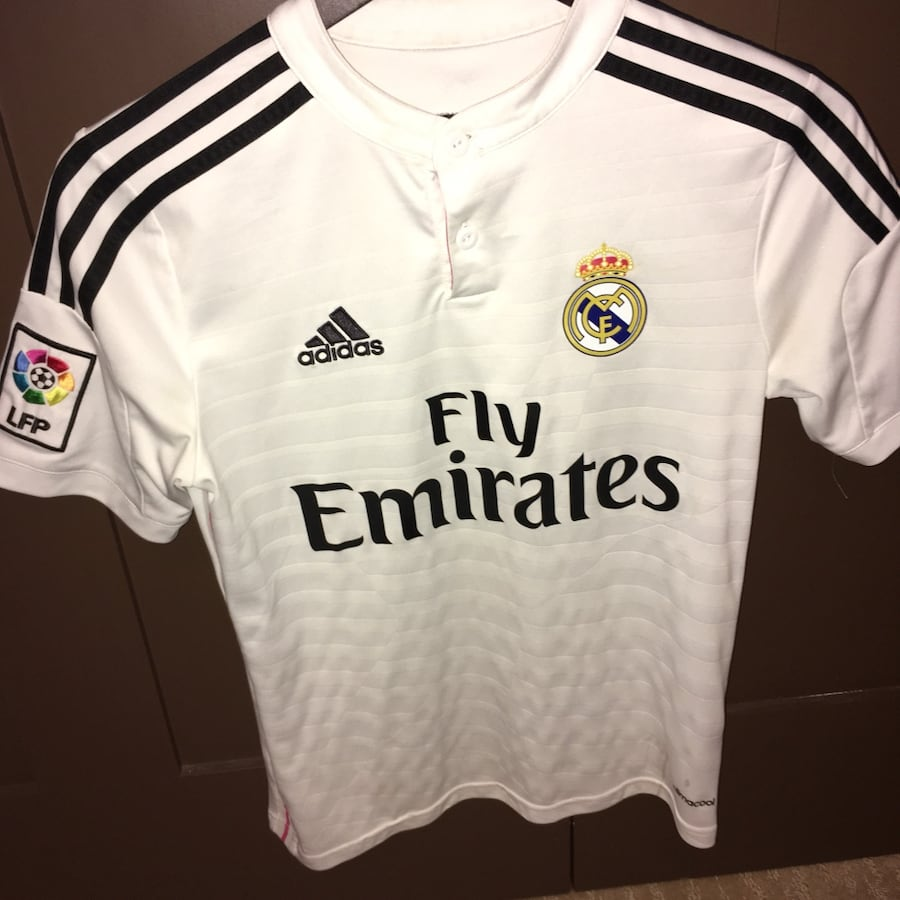 Authentic Real Madrid Fc Jersey