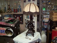 POT BELLY STOVE LAMP Langley
