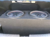 black Kicker subwoofer with enclosure Los Angeles, 91401