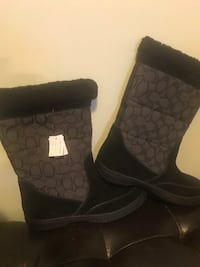 pair of black Coach boots Middlesex Centre, N6P 1P2