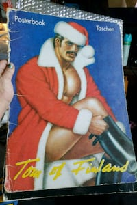 Retro collectable Tom of Finland Posterbook