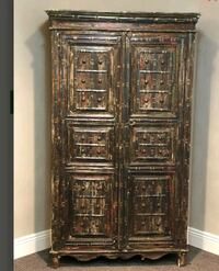 Wooden Storage Armoire - Made in India  City of Orange, 07050