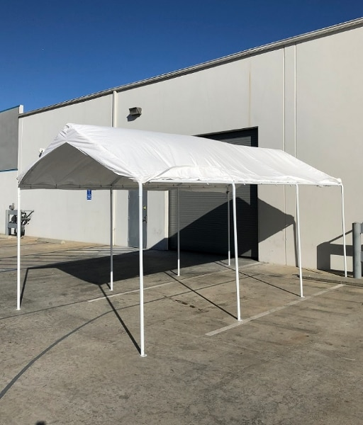 Used New $130 Heavy Duty 10x20 ft Carport Canopy Outdoor Storage Shelter 8 Steel Leg Waterproof Cover for sale in South El Monte - letgo & Used New $130 Heavy Duty 10x20 ft Carport Canopy Outdoor Storage ...