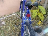 blue hardtail bike Santa Fe