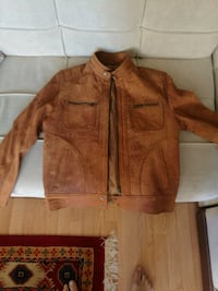 New Slim fit Real Leather Jacket  Mississauga, L5M 6C5