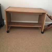 Bedside / coffee / end / tv / laptop table on wheels Toronto, M9A 4R7