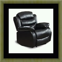 Black recliner chair  Alexandria, 22306