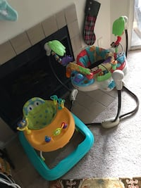 Baby walker and bouncer