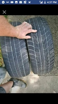 2 Used Tires Size 205/65/15 Clarksville, 47129