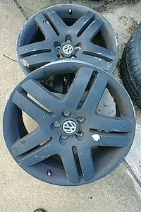 2007 - Volkswagen - rims and spare.  Grand Rapids, 49505