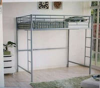 white metal bunk bed frame Capitol Heights, 20743